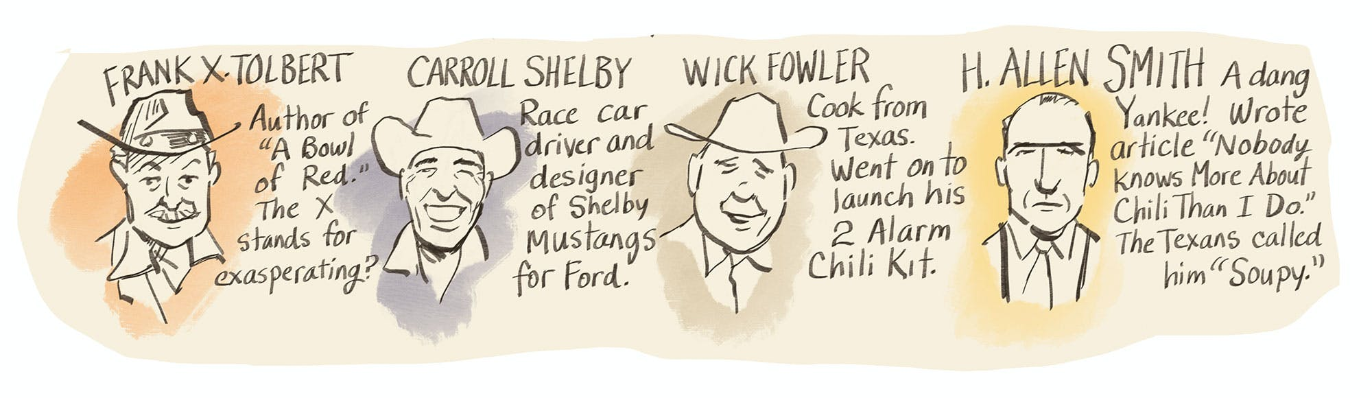 An Illustrated Look At The Terlingua Chili Cook Off Texas Monthly