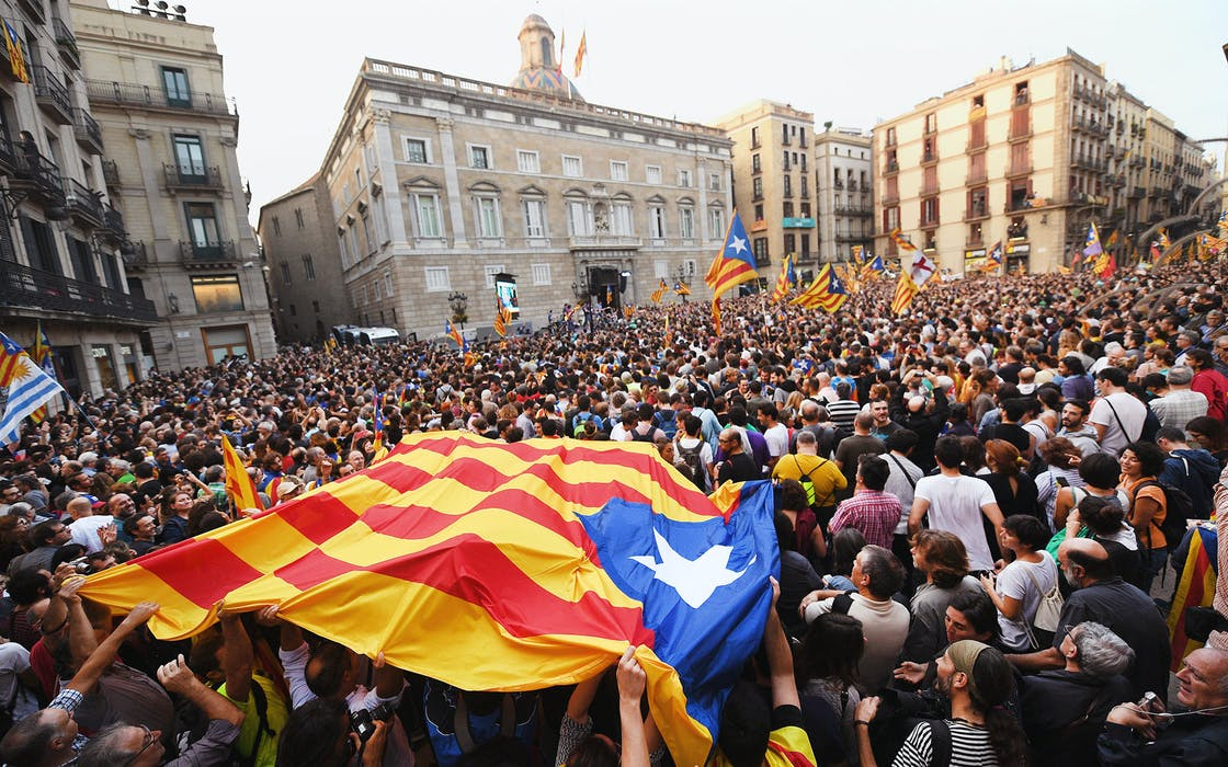Texas Catalonia secession