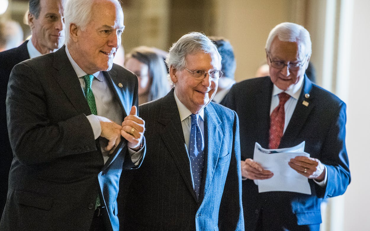 individual tax cuts