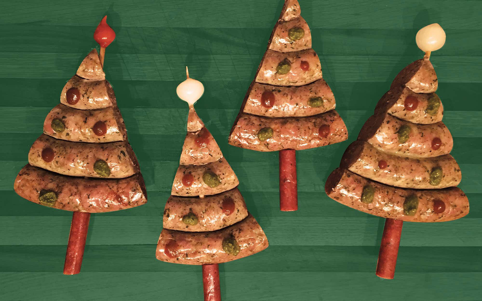 Christmas Tree Sausage