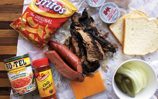 Barbecue chili recipe