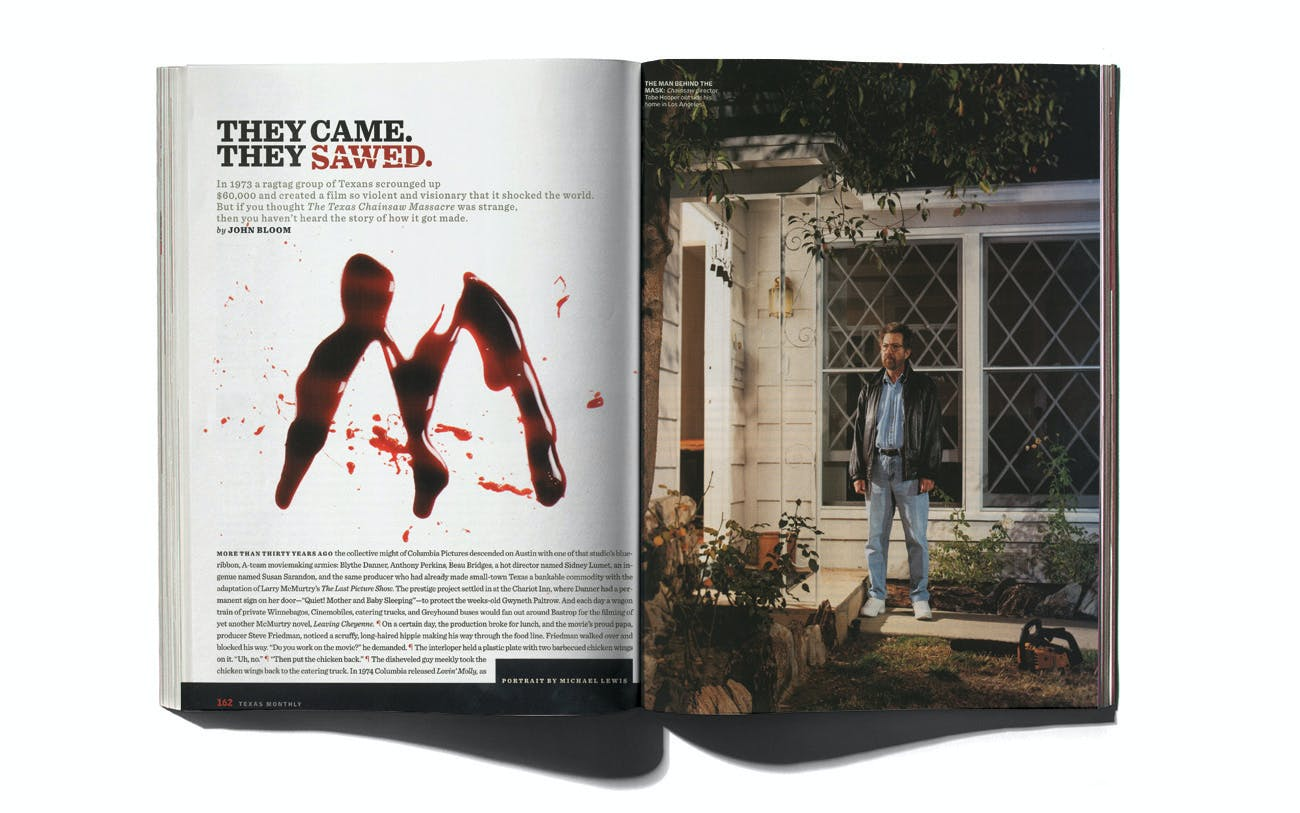Tobe Hooper in Texas Monthly's November 2004 issue