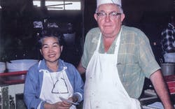 Hisako and Thurman Roberts