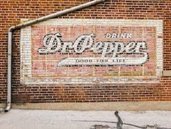Dr. Pepper Mural