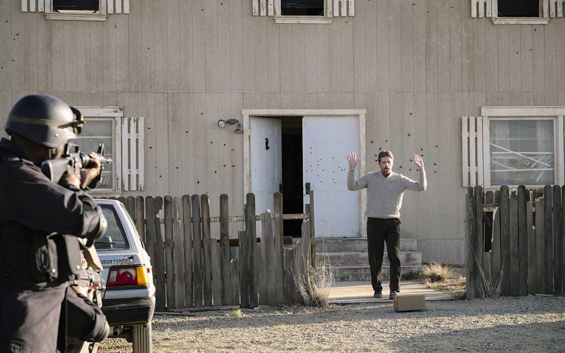 Paul Sparks plays Branch Davidian Steve Schneider in 'Waco'.