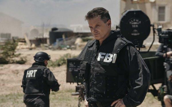 Shea Whigham as FBI agent Mitch Decker in 'Waco'.