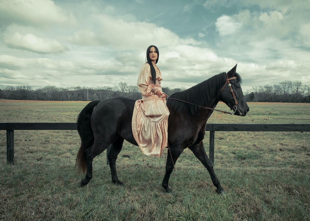Kacey and horse