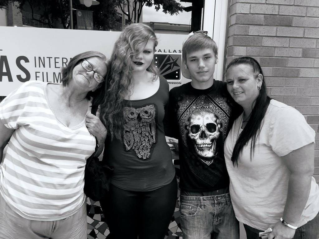 Sheila, Gabby, Hunter Mayo, and Shauntel
