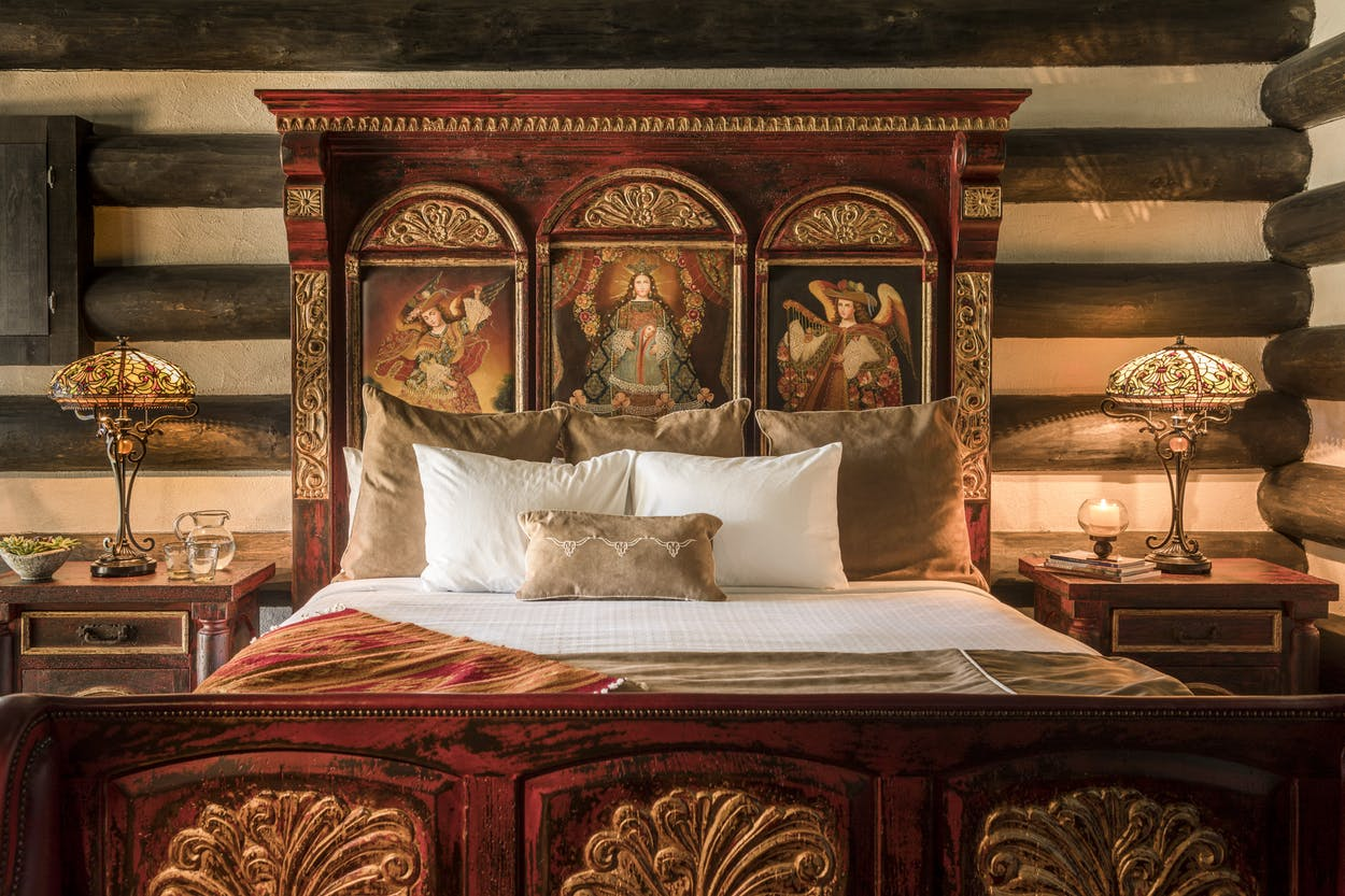 Gage Hotel bed