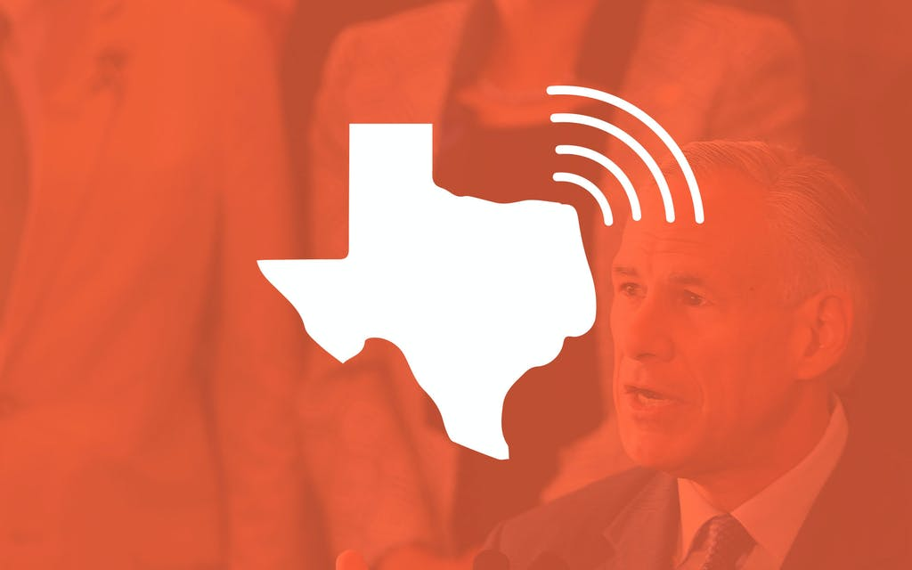 Greg Abbott National Podcast of Texas