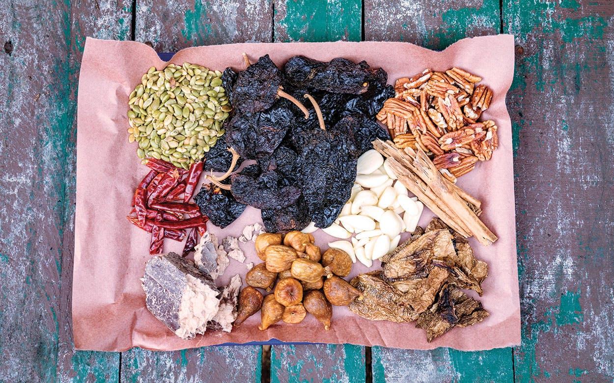 Tejas Chocolate mole