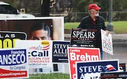 Voting Signs San Antonio
