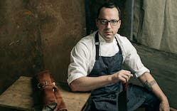 Chef Steve McHugh of Cured in San Antonio.