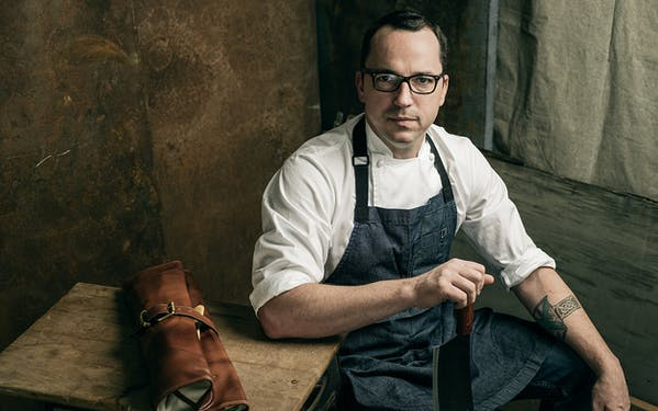 Chef Steve McHugh of Cured in San Antonio.