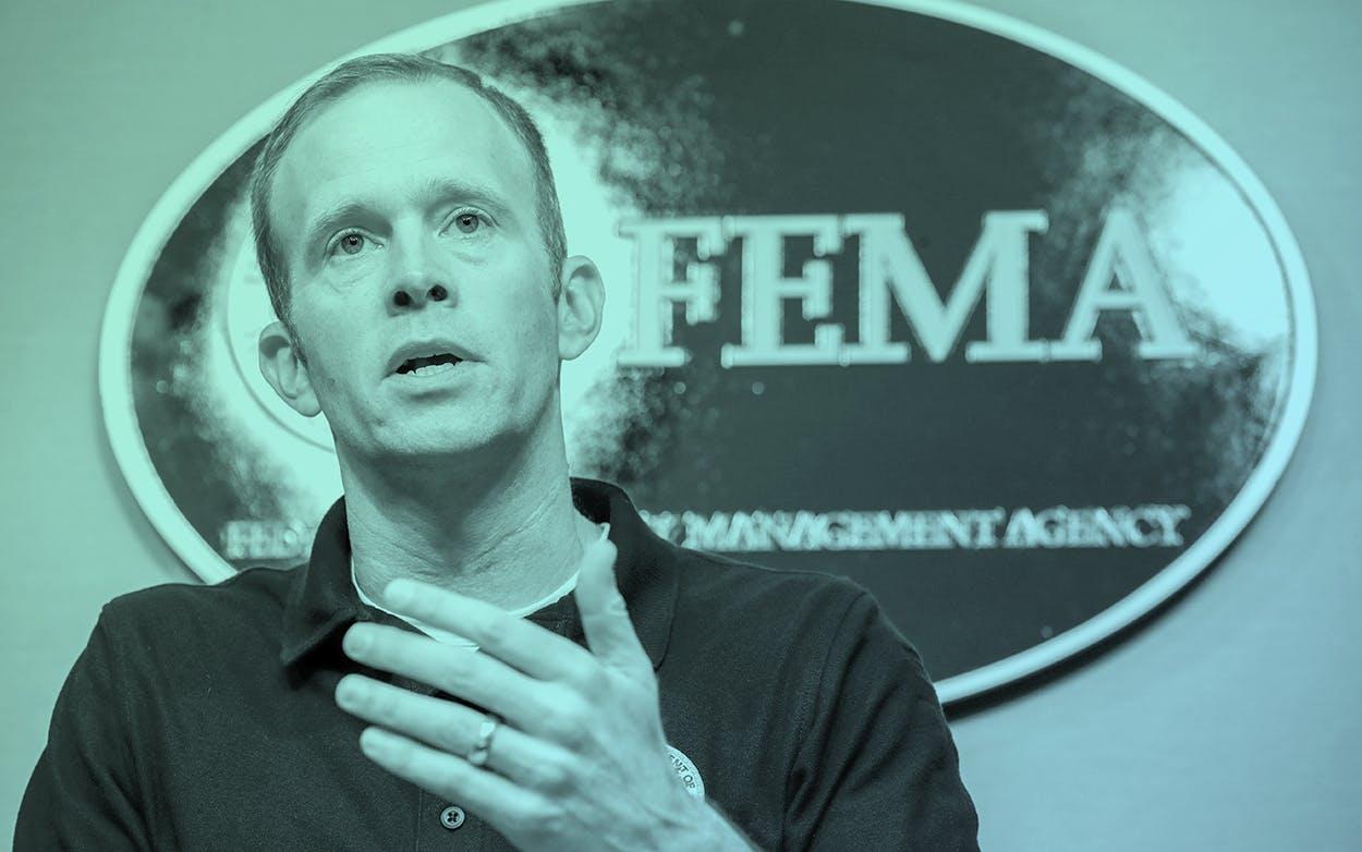 Federal Emergency Management Agency (FEMA) Administrator Brock Long.