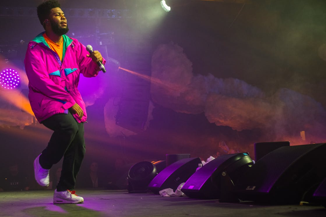 Khalid performs at Trinity Warehouse during SXSW on March 15, 2018.