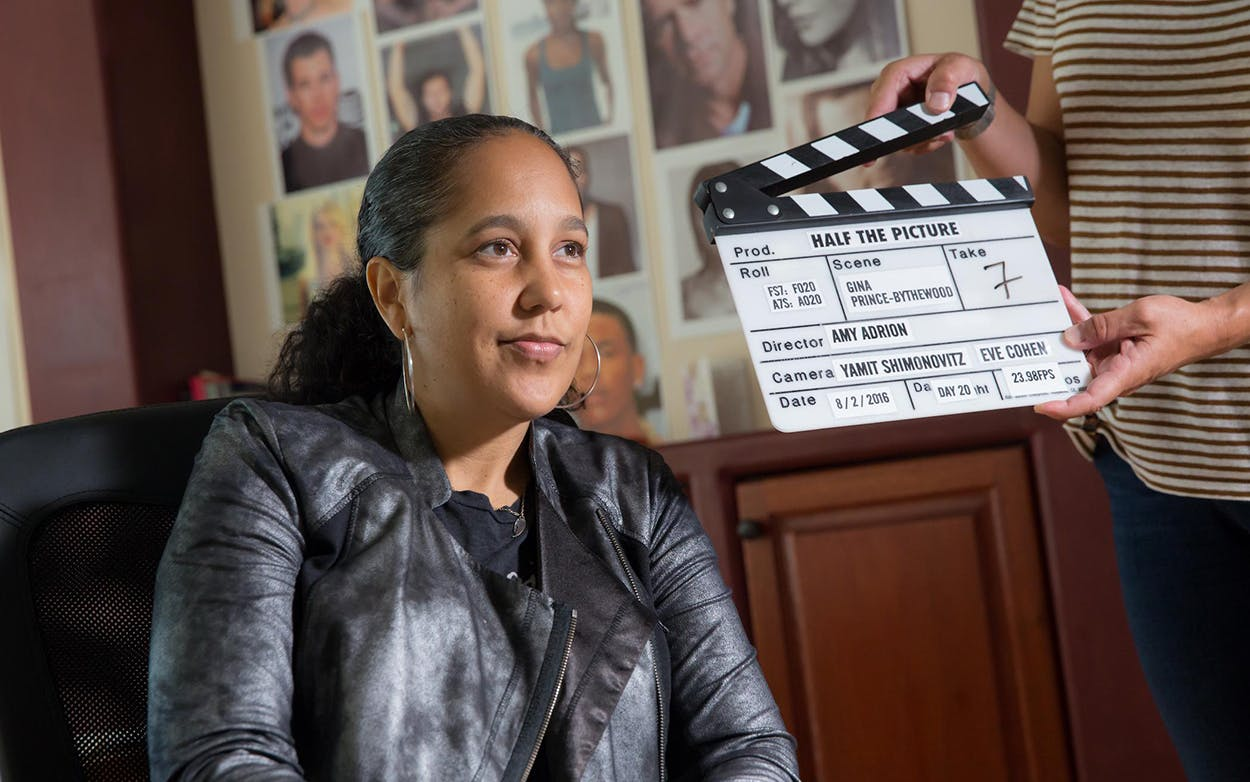 """Gina Prince-Bythewood in """"Half the Picture."""""""