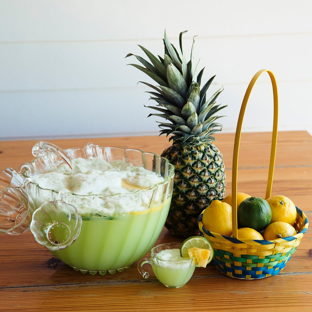 Kimberly Schlegel Whitman's Pineapple-Lime Punch.