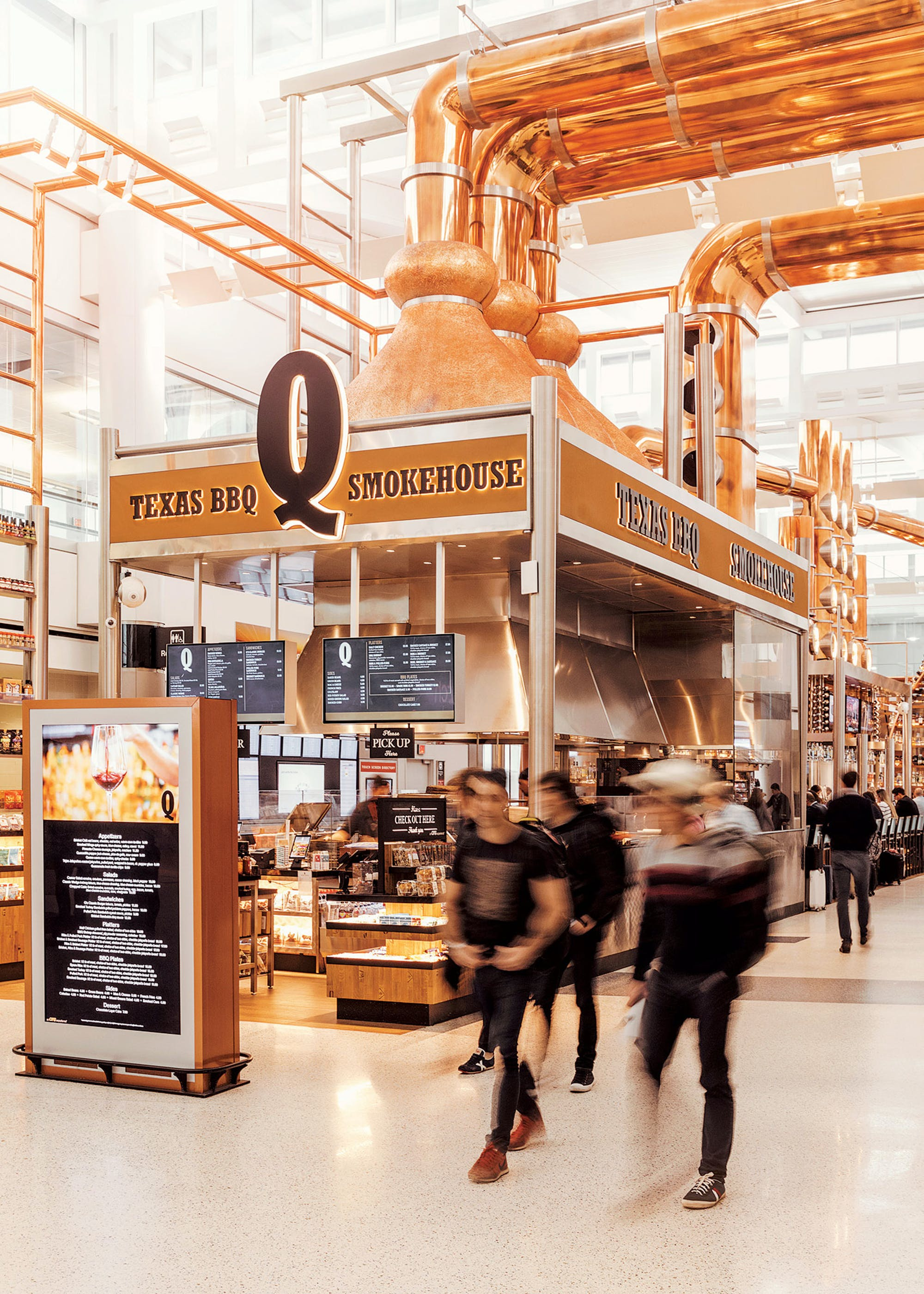 Barbecue Takes Off At Bush Airport Texas Monthly
