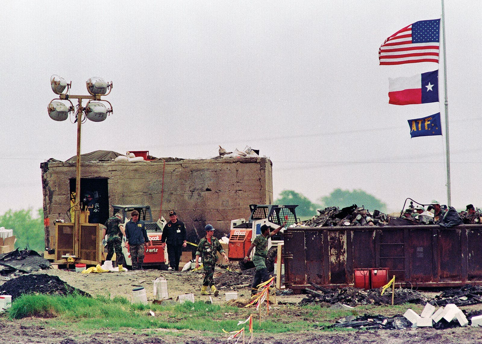 ATF searching Branch Davidian compound