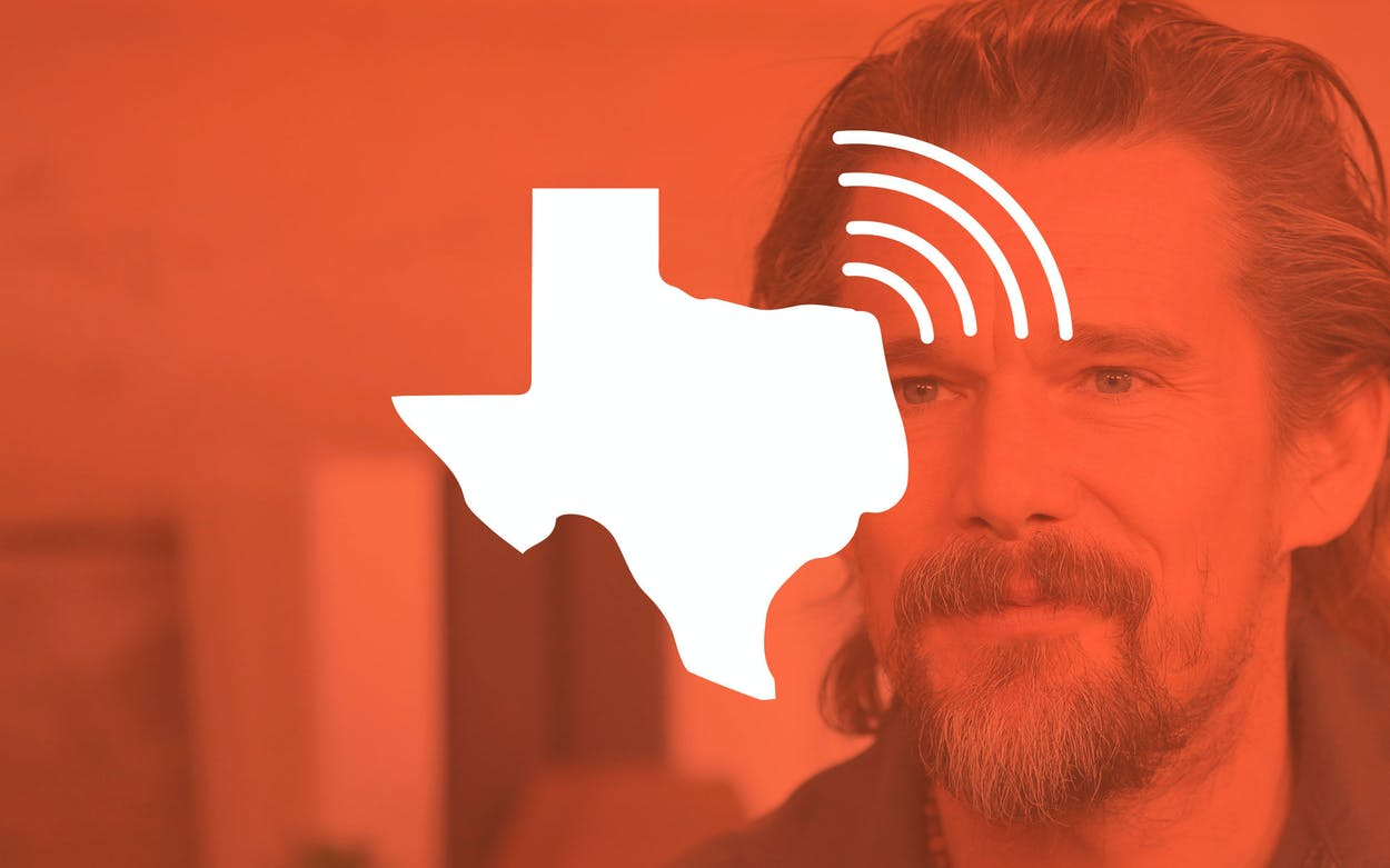 Ethan Hawke National Podcast of Texas
