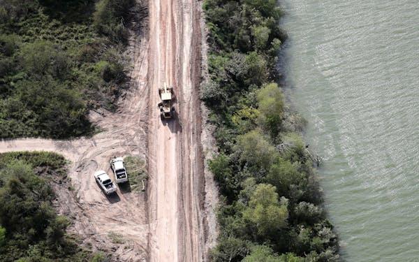 Texas Border Aerial
