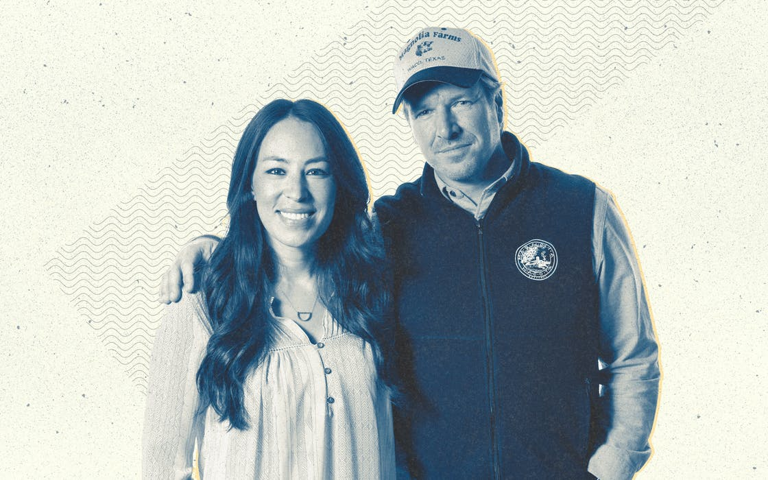 Chip and Joanna Gaines from Fixer Upper.
