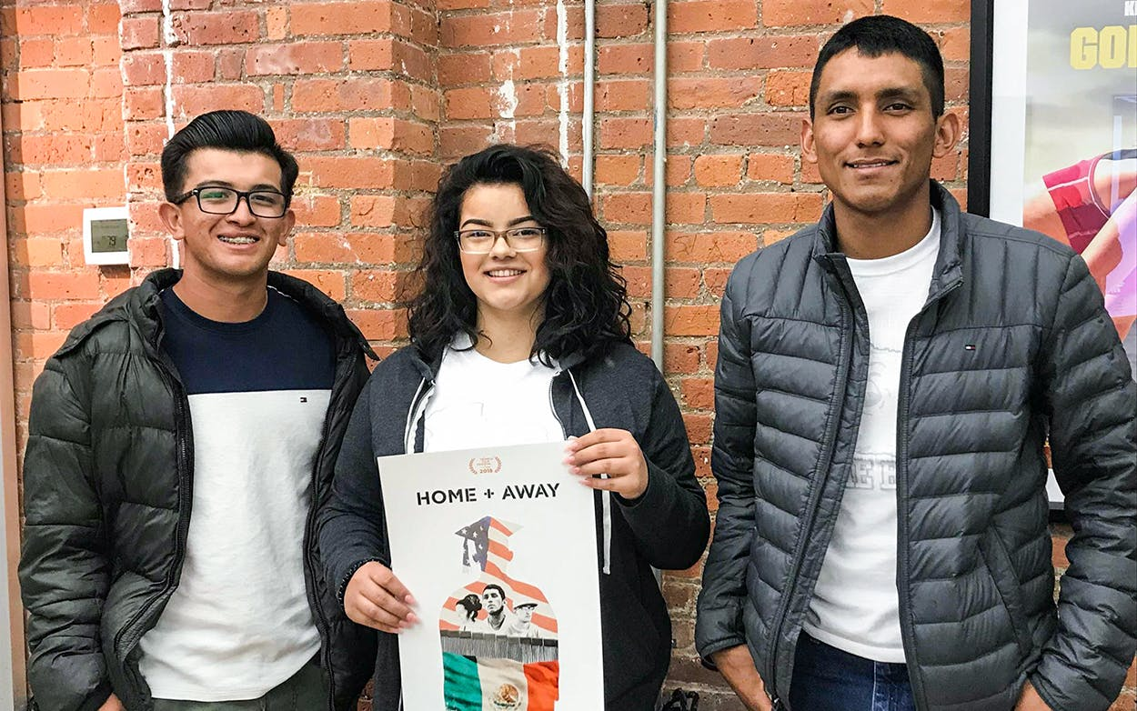 The film focuses on baseball player Francisco Mata, wrestler Shyanne Murguia, and soccer player Erik Espinoza Villa. The three students flew from El Paso to New York on Thursday to attend the Tribeca Film Festival.