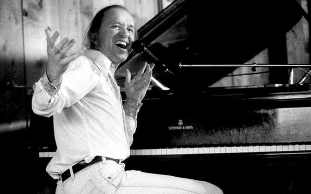 Bob Dorough in the 1980s at Bach Dancing & Dynamite Society in Half Moon Bay, California.