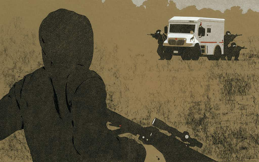 The Doting Boyfriend Who Robbed Armored Cars