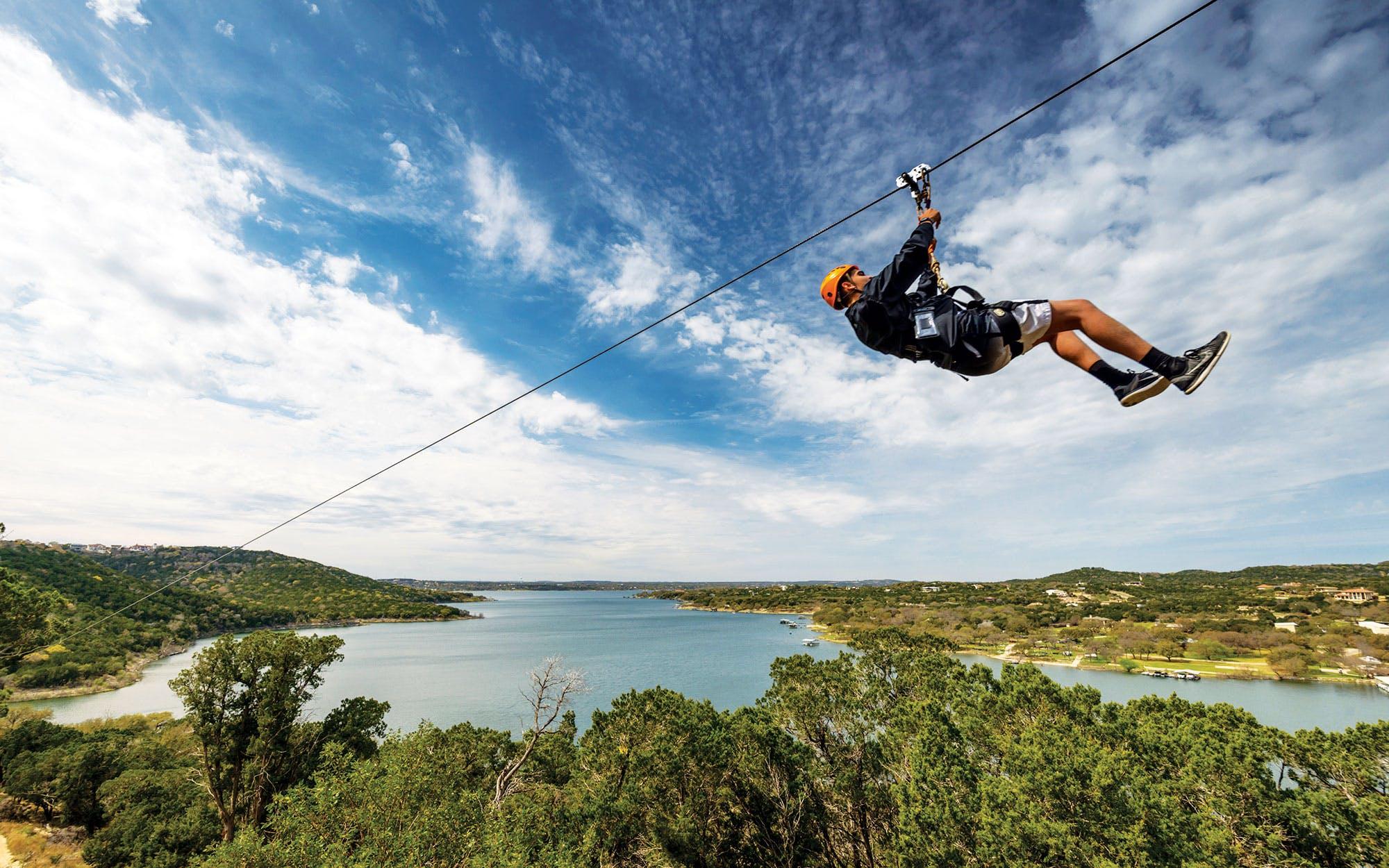 Five Zip Line Adventures To Try In Texas Texas Monthly