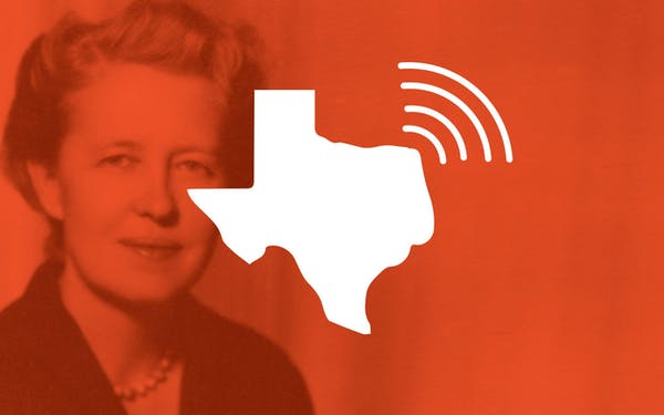 Dominique de Menil National Podcast of Texas