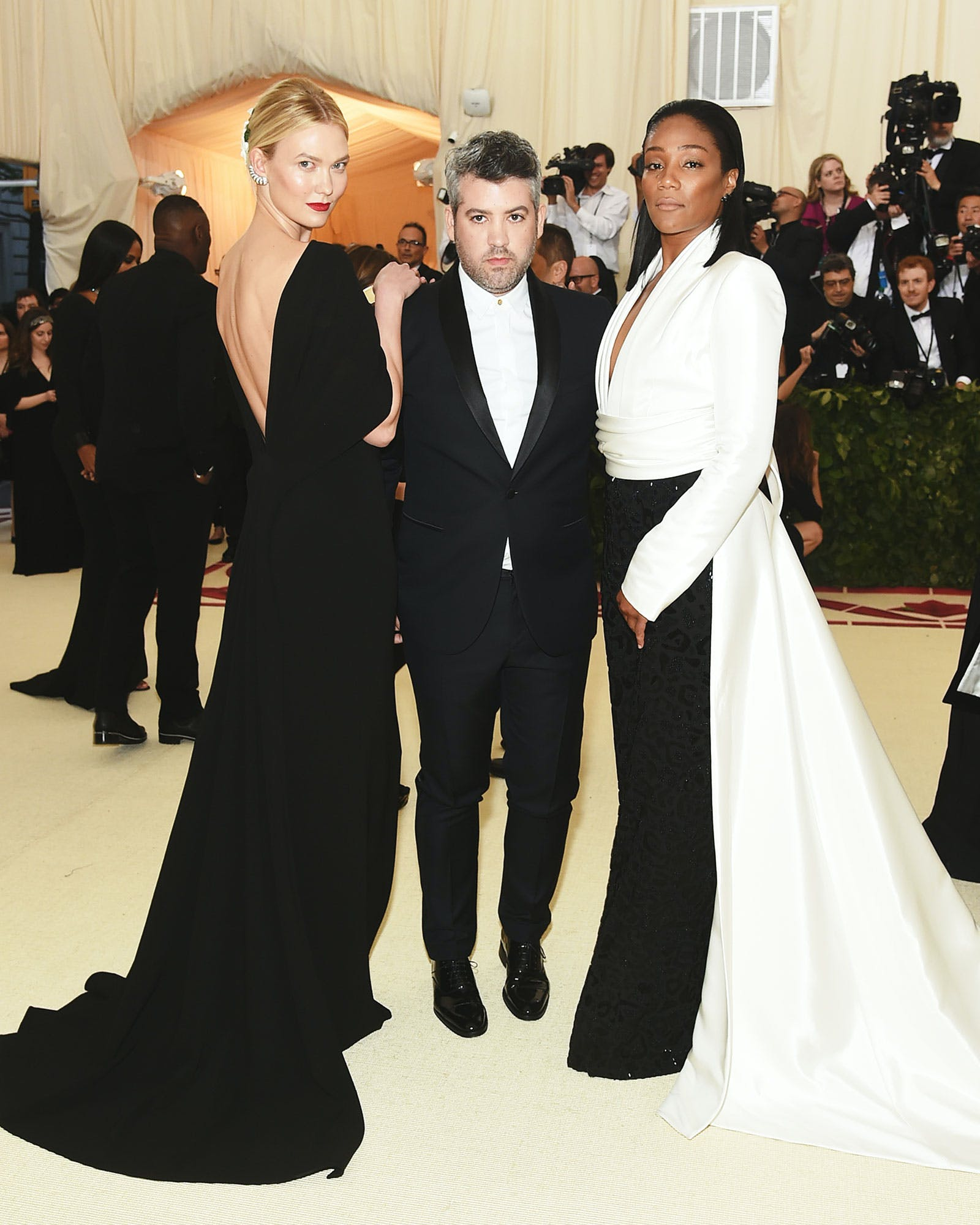 Karlie Kloss, Brandon Maxwell, Tiffany Haddish