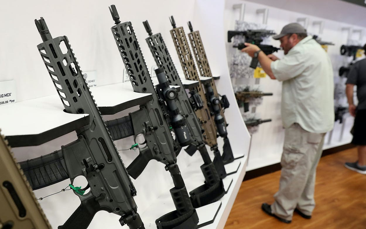 NRA Convention Rifles
