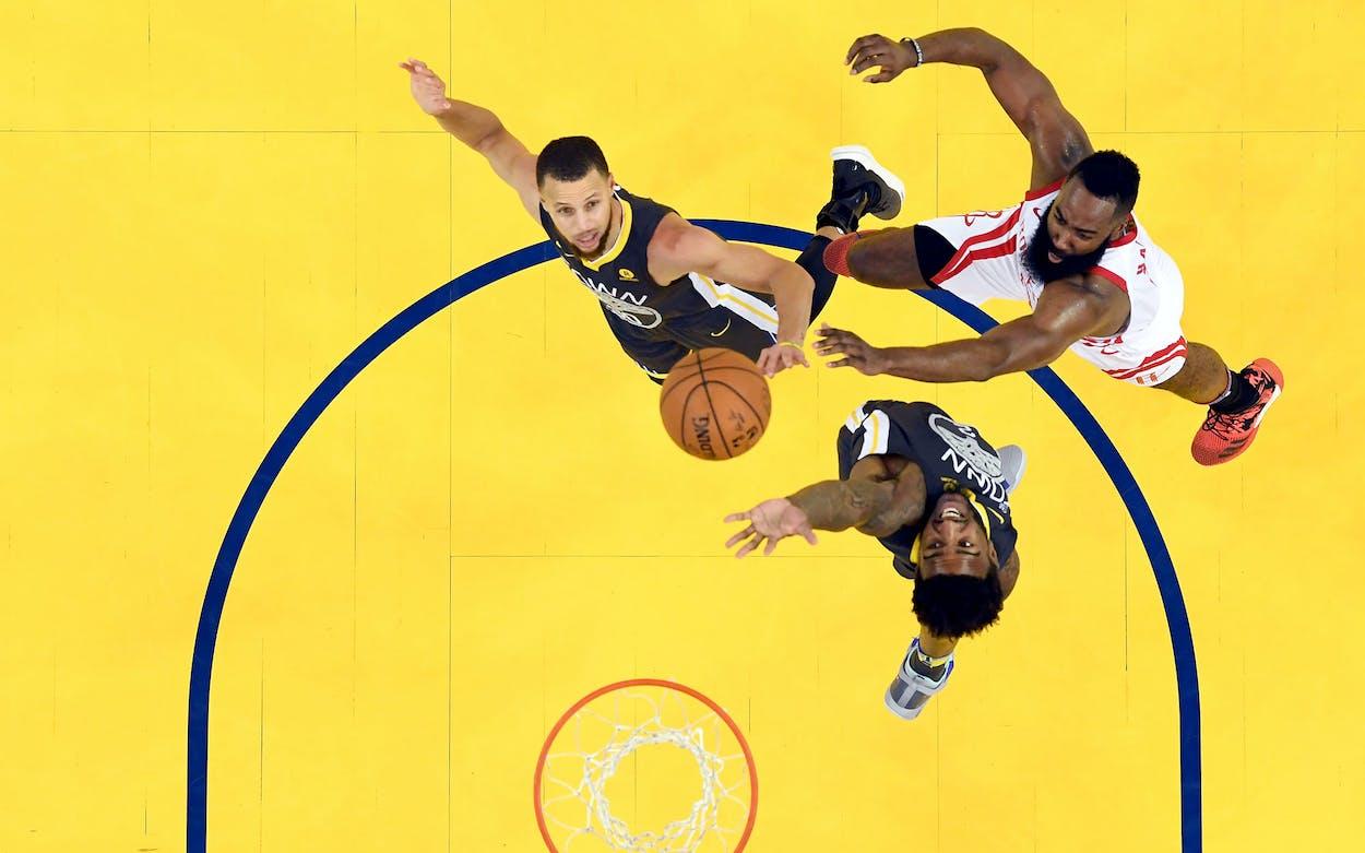 Rockets v. Warriors