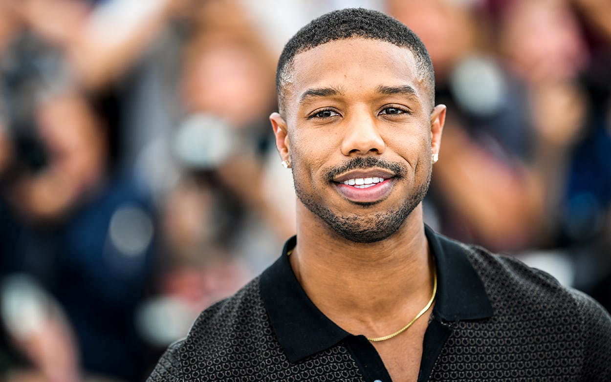 Actor Michael B. Jordan attends the 71st annual Cannes Film Festival on May 12, 2018 in Cannes, France. On May 21, 2018, Jordan was announced as the voice of Julian Chase, lead protagonist of the forthcoming anime series Gen:Lock from the animation studio of Austin-based Rooster Teeth, Texas film industry