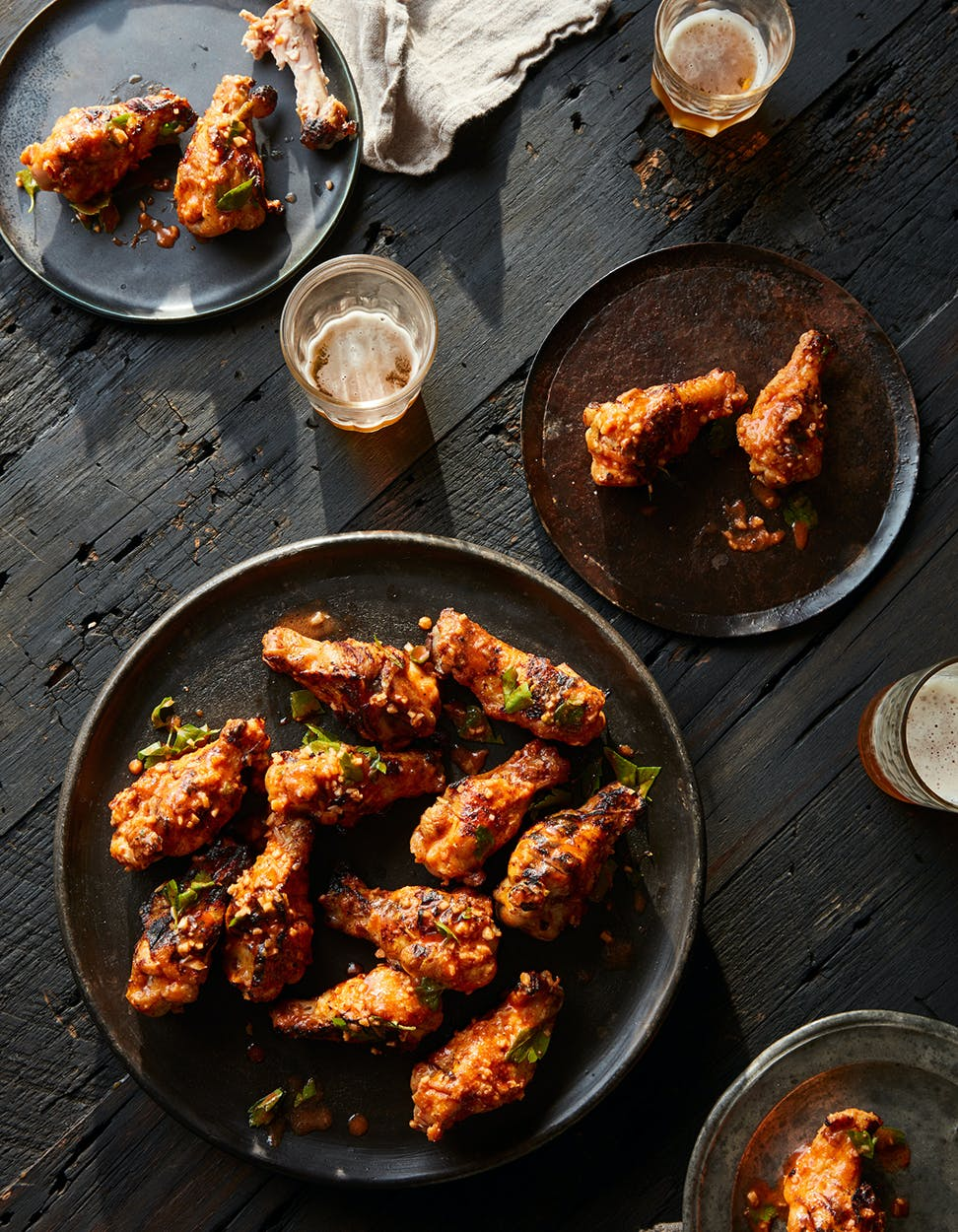 Party Wings with Cholula Butter.