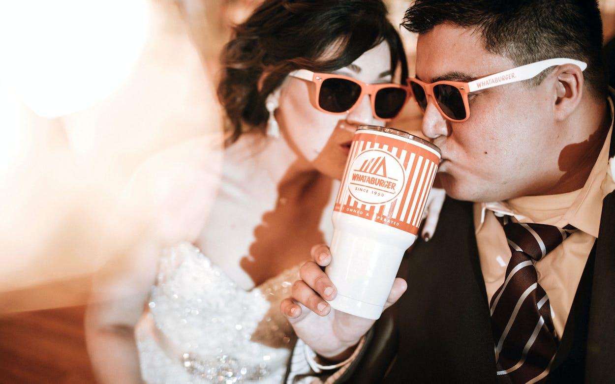 Whataburger Wedding