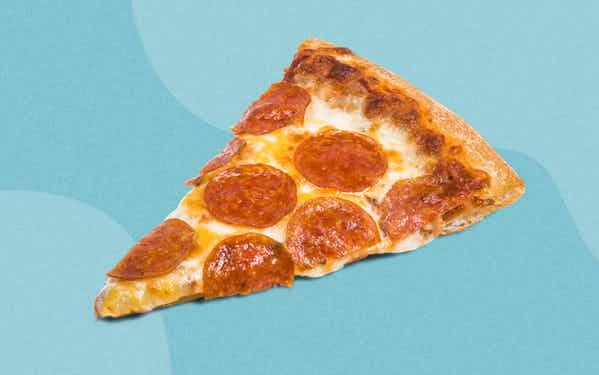 Slice of pepperoni pizza Conans