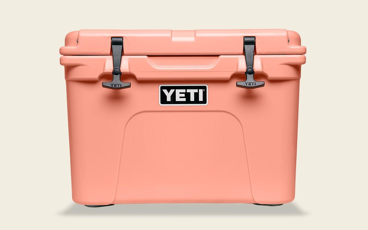 YETI's Tundra 35 cooler.