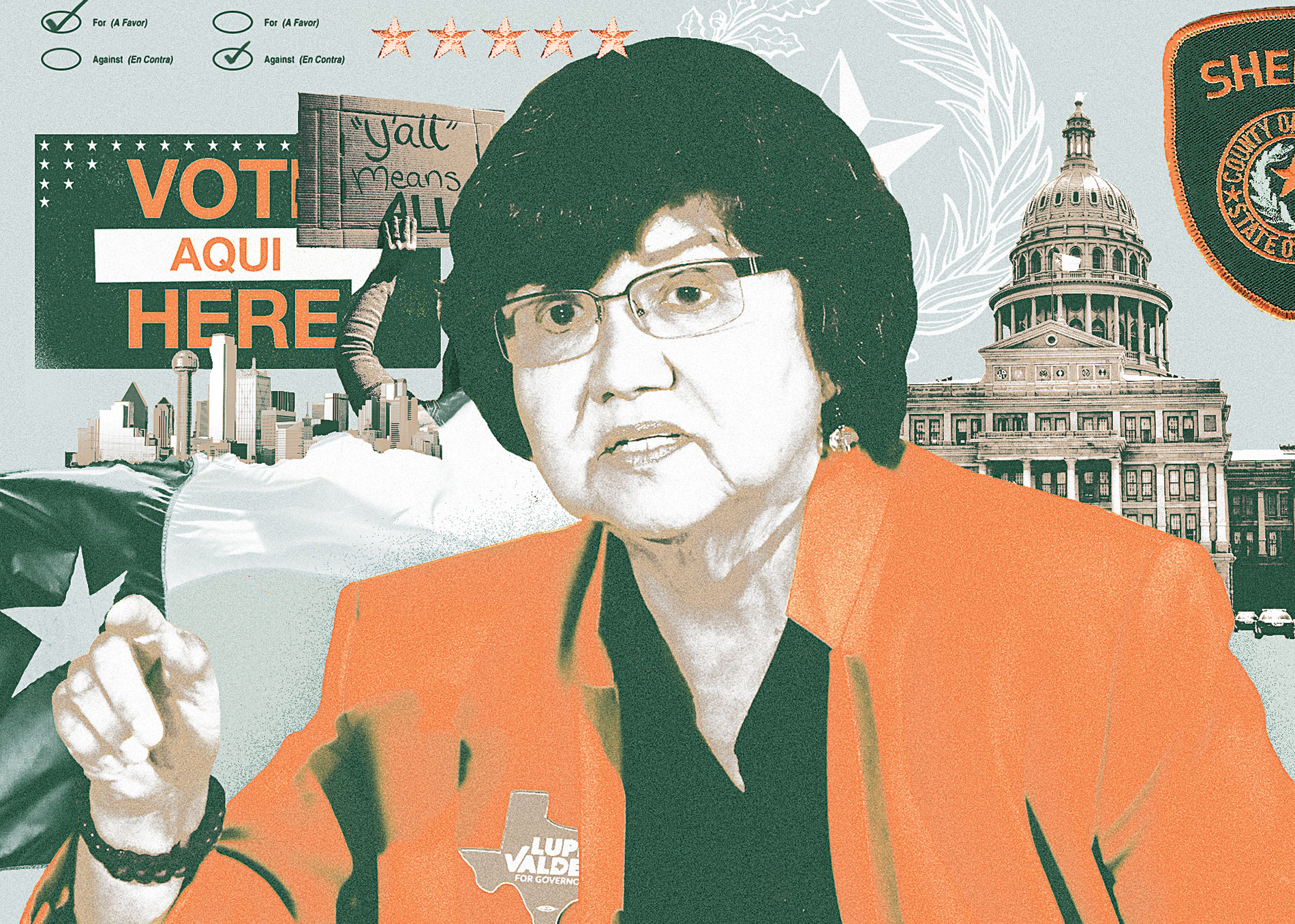 Just How Doomed Is Lupe Valdez? - Texas Monthly