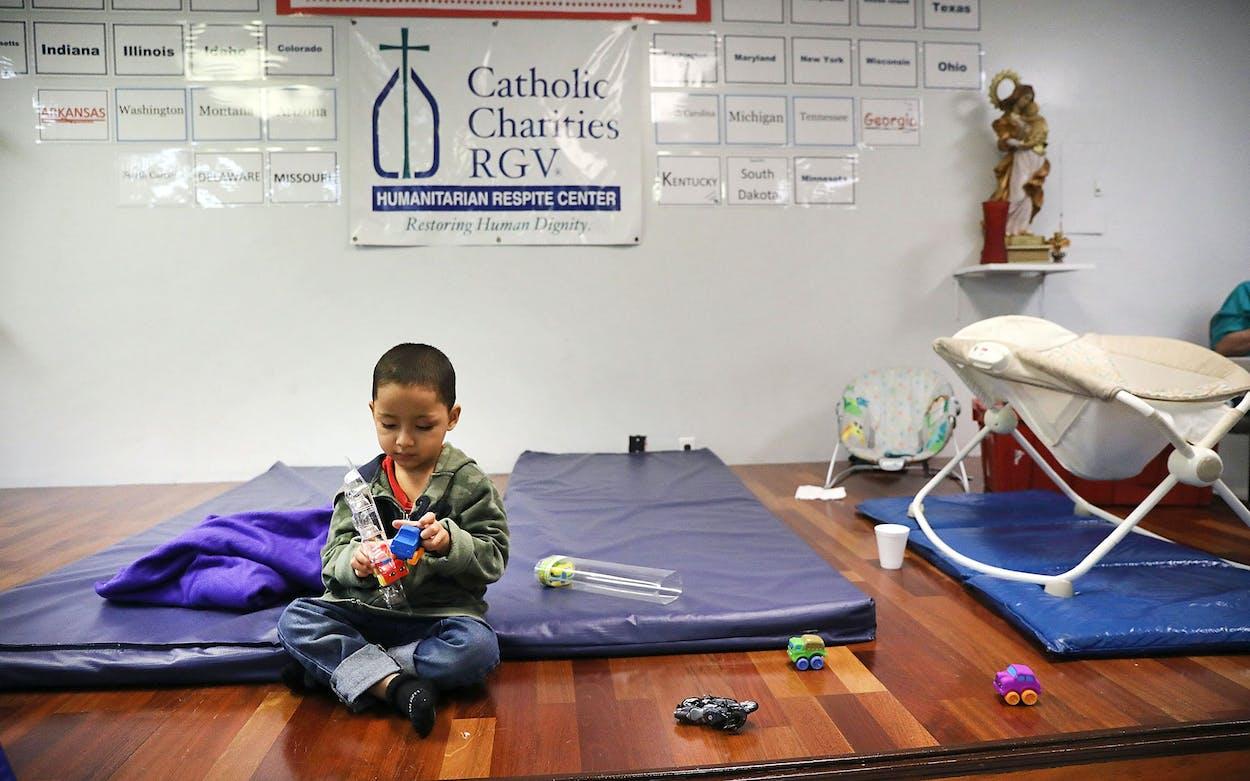 Catholic Charities RGV Immigrant Child