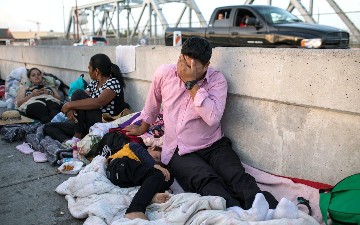 Immigration Bridge Brownsville