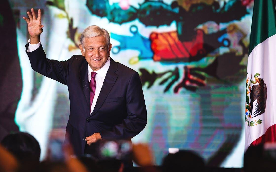 AMLO Mexico President
