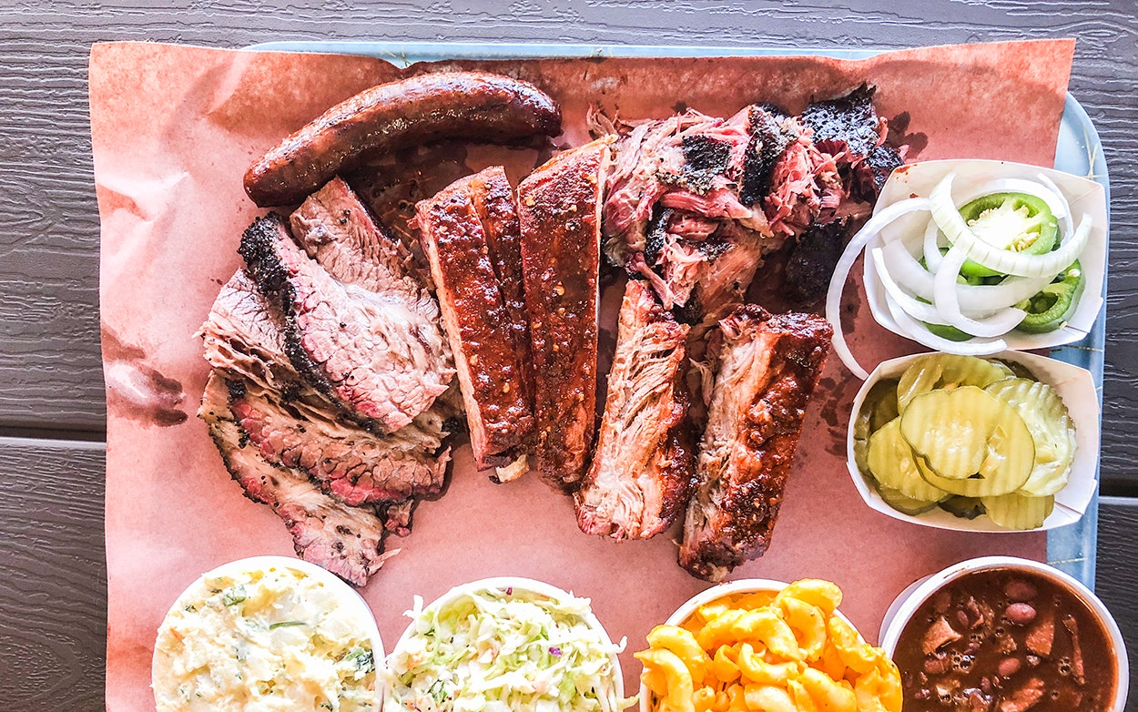 Texas Style Brisket And Otherworldly Pulled Pork In Huntington Park California Texas Monthly