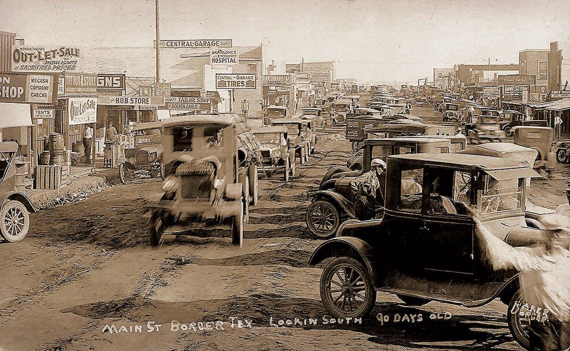 Borger TX 1926
