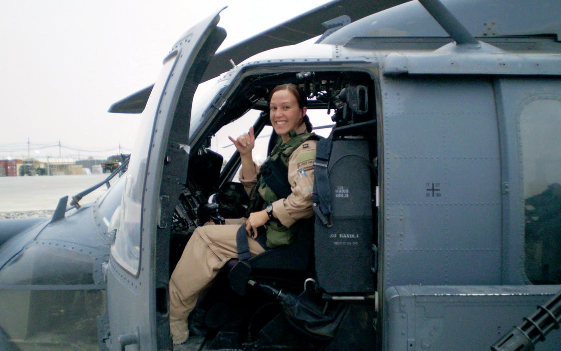 Democrat MJ Hegar released a campaign video online that highlights her time as a rescue helicopter pilot in Afghanistan.