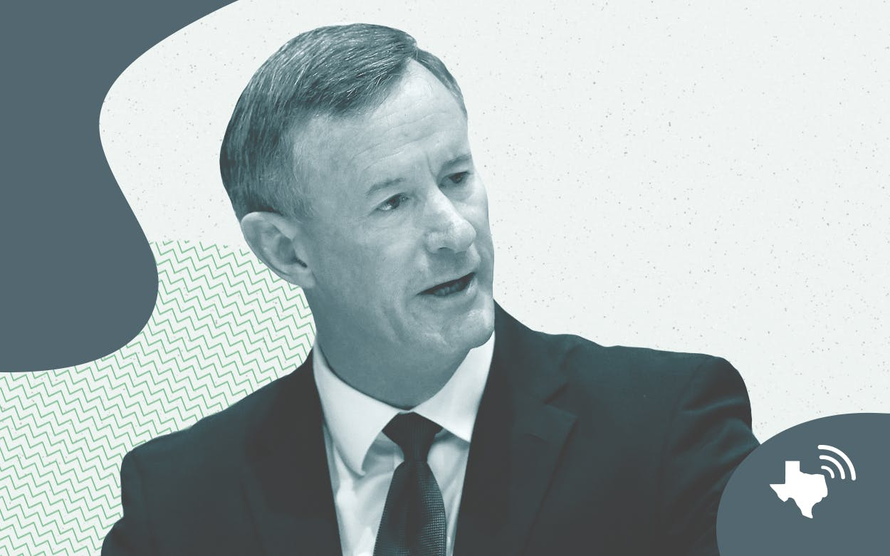 Admiral McRaven National Podcast of Texas