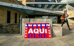 Voting Austin Texas