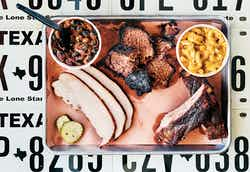 Barbecue and bourbon are what's on the menu at All the King's Men, in Bryan.